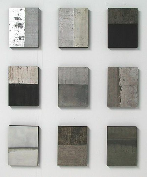 farbe für beton wandfarbe wände streichen Art Pinterest - farben fur wande