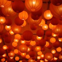 Paper Ceiling Lanterns - Home Design