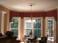 Window Treatments for a Bow Window