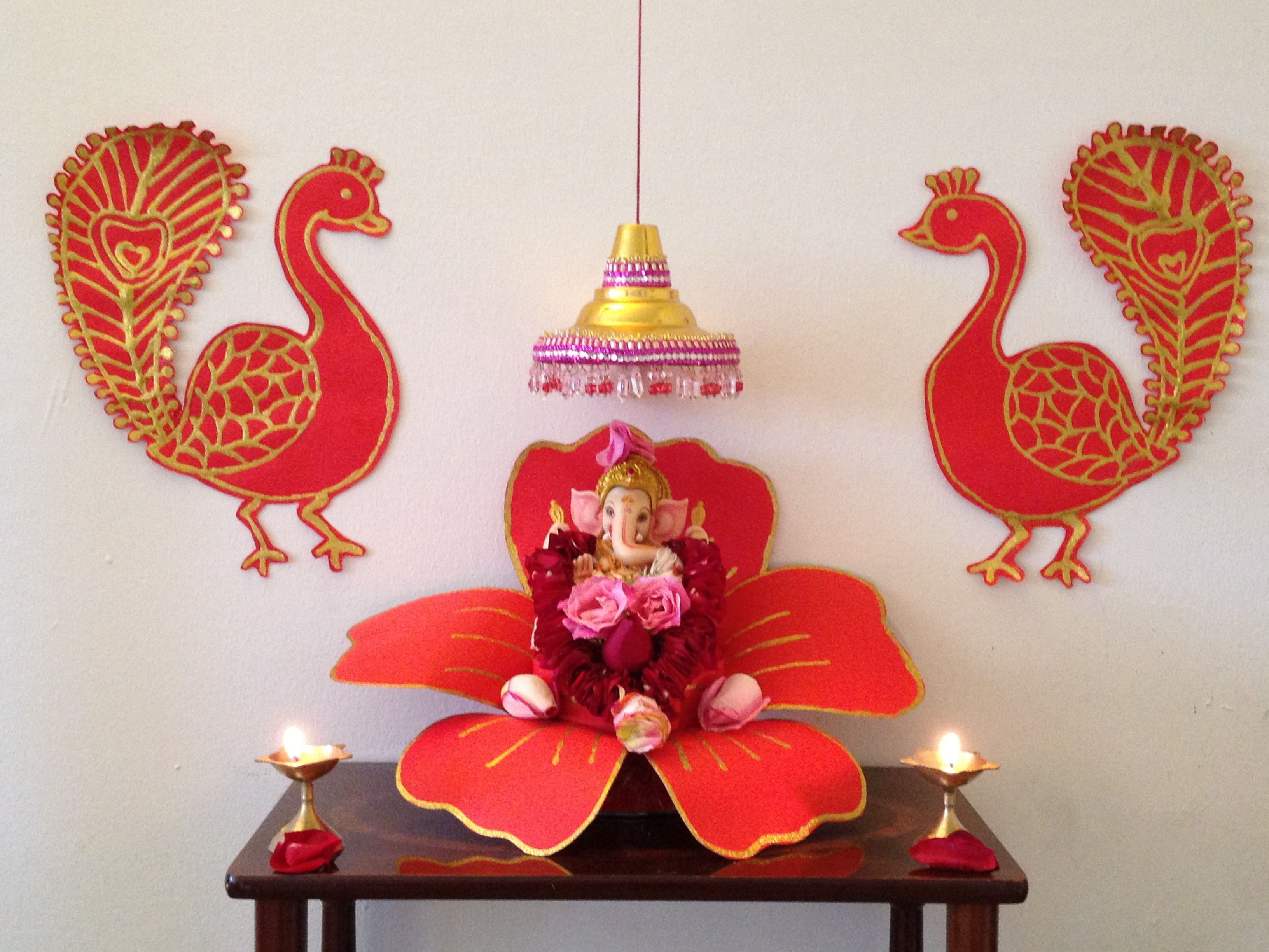 Diwali Decoration Ideas And Crafts Ganpati 2012 Festivals Pinterest Decoration Ganesh
