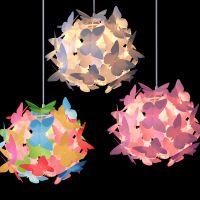 Girls Butterfly Ceiling Pendant Light Lamp Shade ...