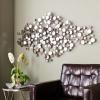 Harper Blvd Olivia Mirrored Metal Wall Sculpture by Harper ...