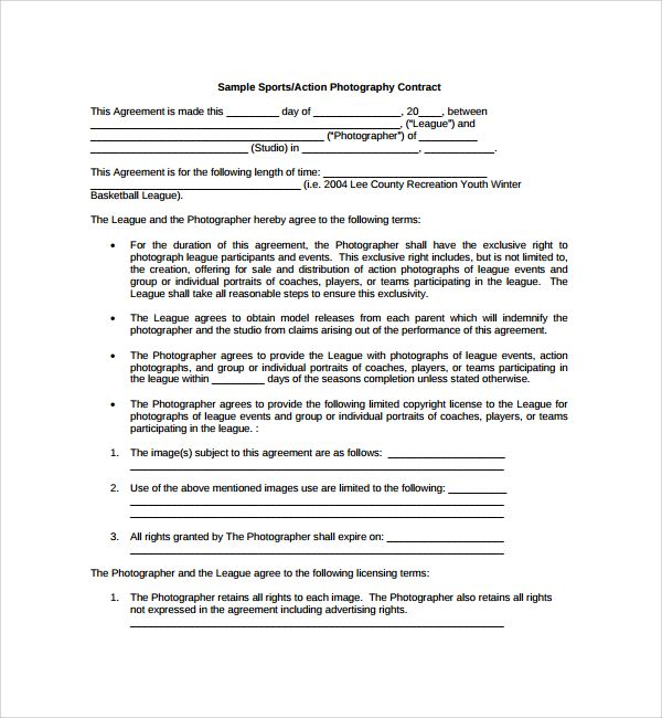 Sample Photography Proposal Template - 9+ Free Documents in PDF - sample proposal contract