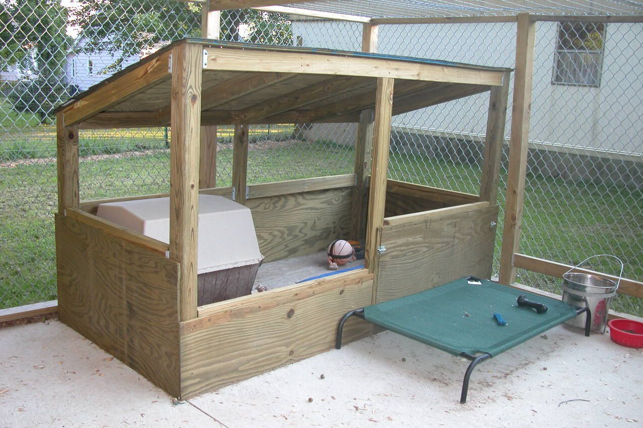 diy dog kennel and run plans back download