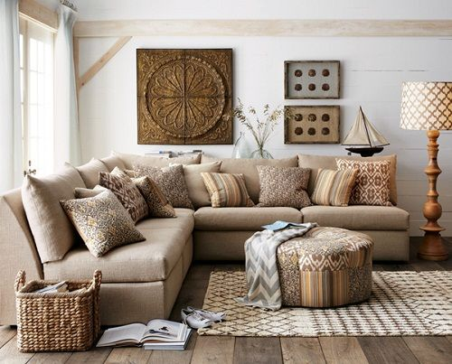 Country Living Room Ideas Home - Living Rooms Pinterest - modern country living room