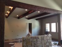 Faux Wood Beams For Ceiling Design Ideas: Old World