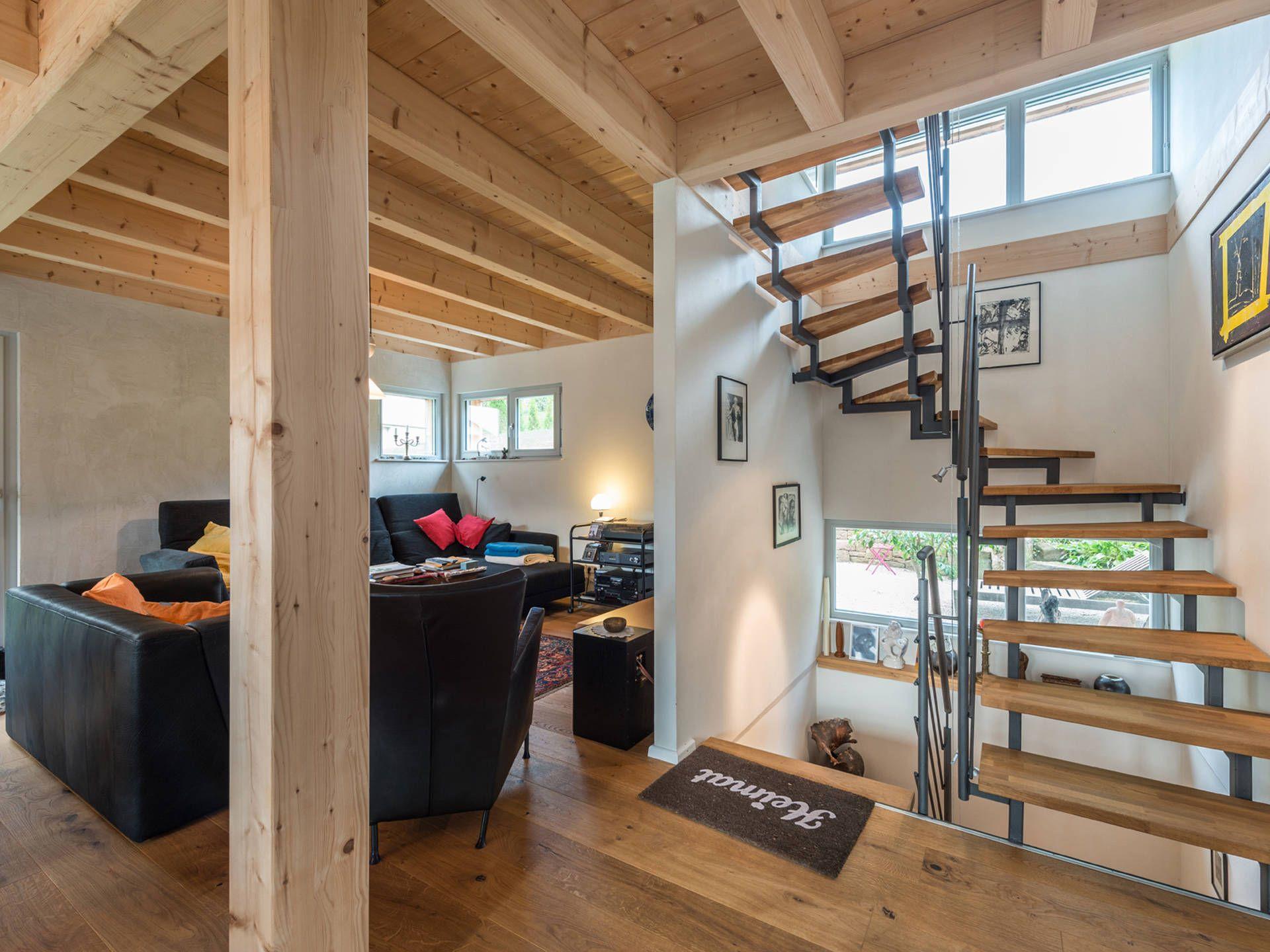 Treppe Im Haus Design 120 Von Frammelsberger Holzhaus