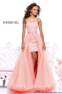 removable wedding skirt for a short dress | Sherri Hill ...