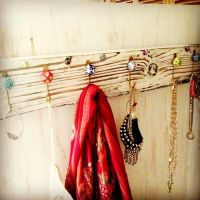 simplylisa1 photo: DIY Jewelry & Scarf Holder >> # ...