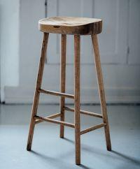 simple wooden stool   wishlist   Pinterest   Oak bar ...