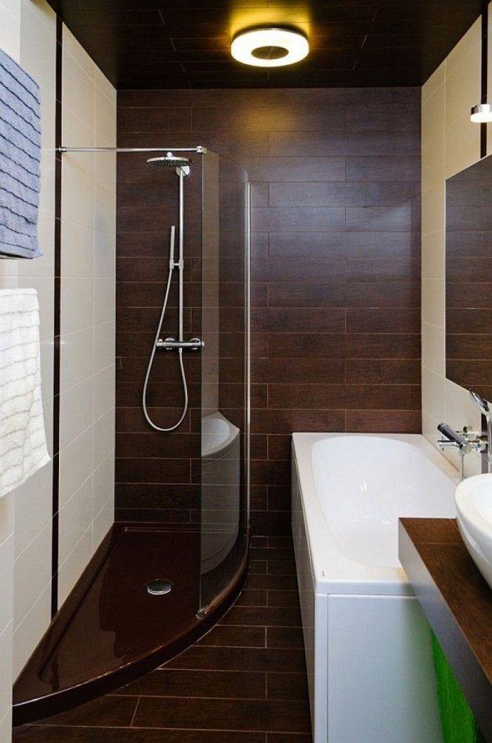 kleines-badezimmer-fliesen-ideen-dusche-badewanne-fliesen - kleines badezimmer fliesen ideen