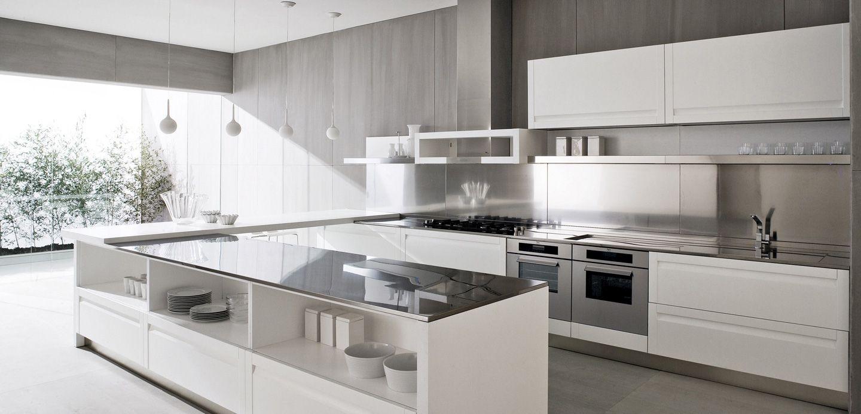 modern white kitchen design modern kitchen designs Modern White Kitchen Design