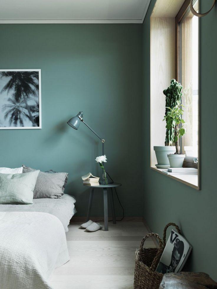 diese farbe für die decke! Schlafzimmer \/ Foto Jonas Ingerstedt - farben fur wande