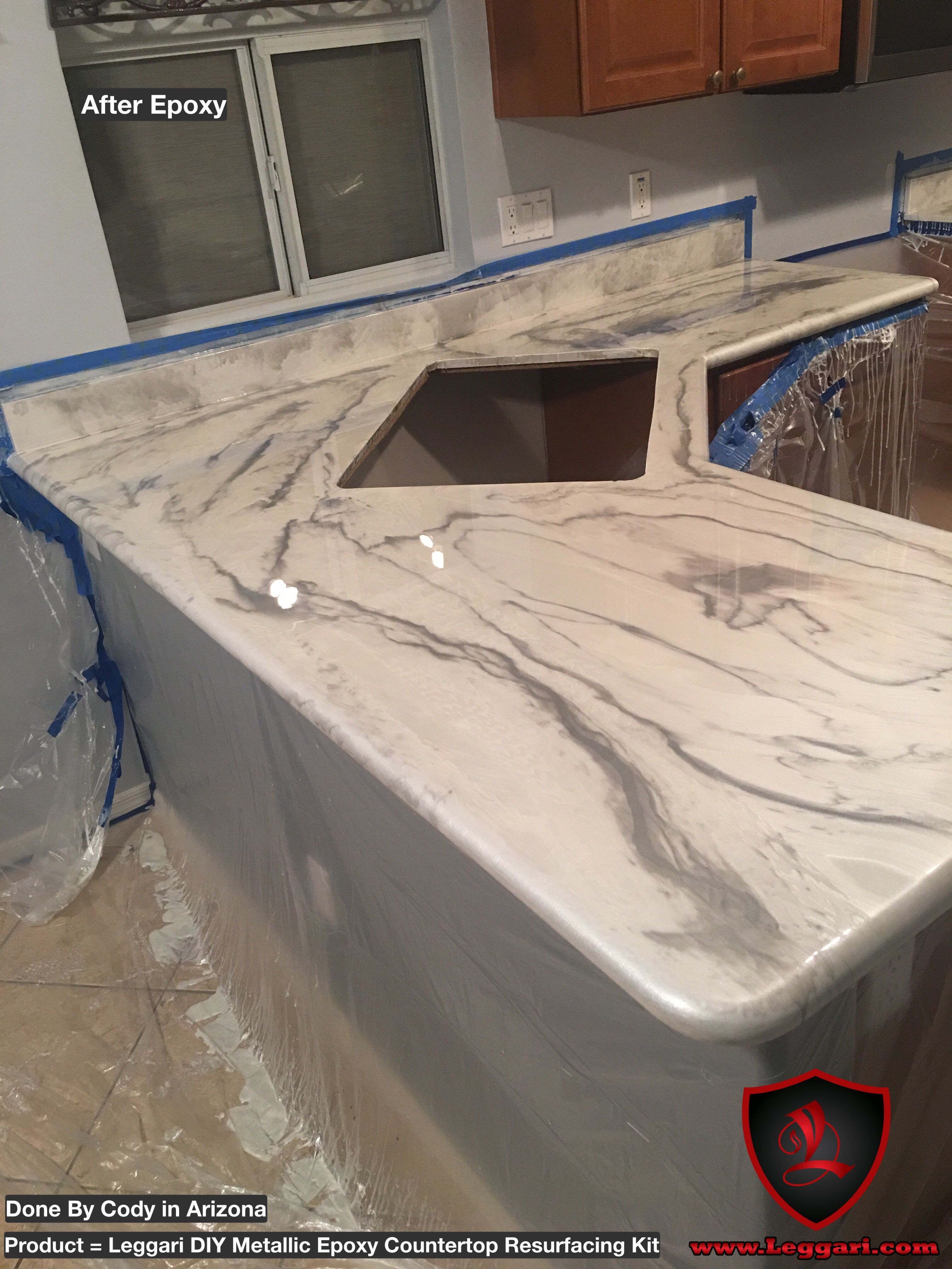 Countertop Epoxy Paint Another First Time User Of Our Products And It Looks