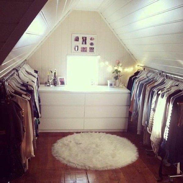 Ankleidezimmer Dachschräge, der Traum jeder Frau Ankleiderzimmer - ankleidezimmer