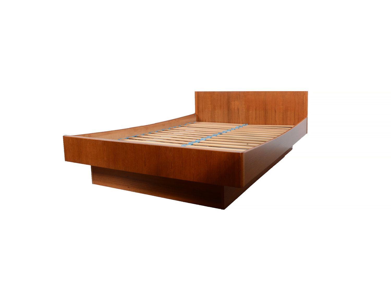 Danish Modern Teak Full Platform Bed W B Mobler Denmark