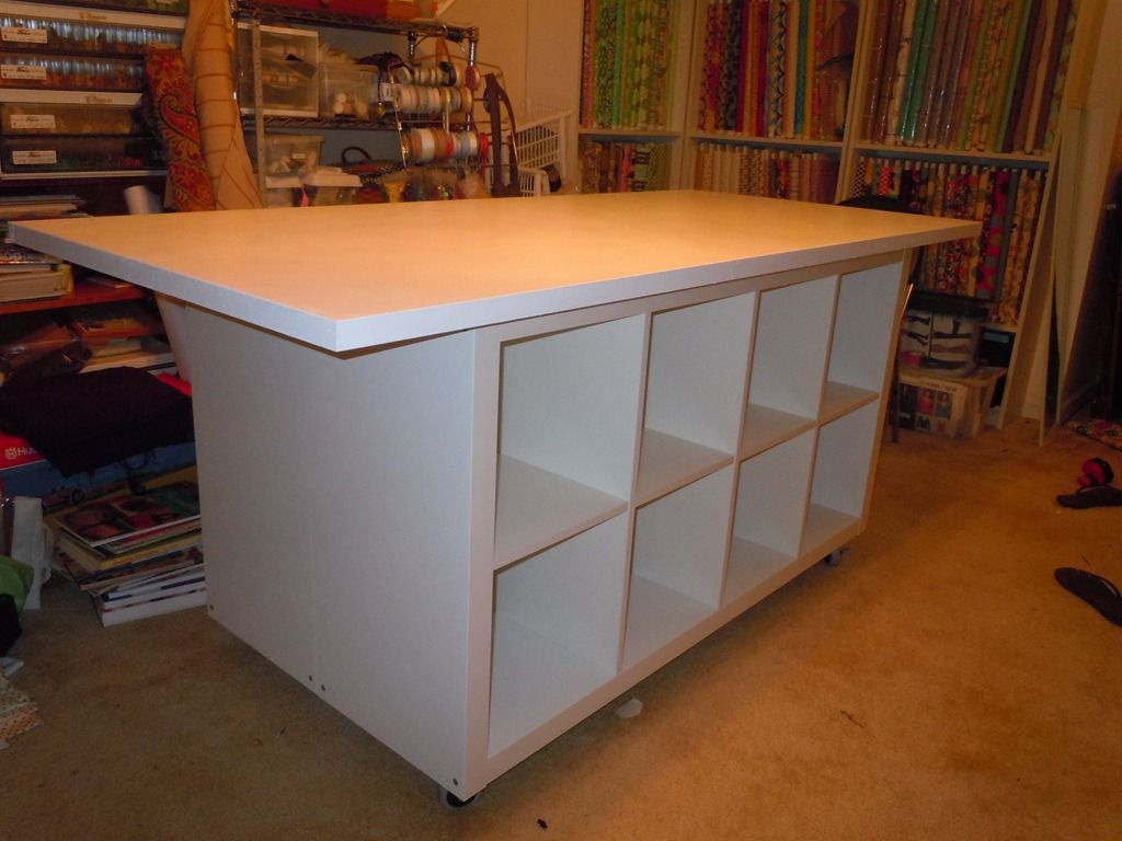 cutting tables kitchen cutting table Ikea hack sewing cutting table tutorial
