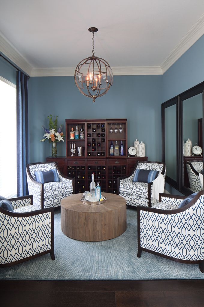 House of Turquoise Heather Scott Home and Design Living Rooms - living room bar furniture
