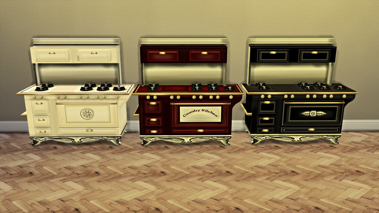 Sims 4 Küche Rund Cc For Sims 4 Country Stove Sims 4 Stuff Pinterest
