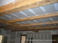 Framing A Basement Ceiling For Drywall - Exposed Beam ...