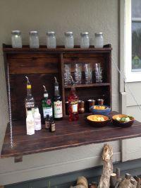 Outdoor Murphy bar. | Mancave | Pinterest | Bar