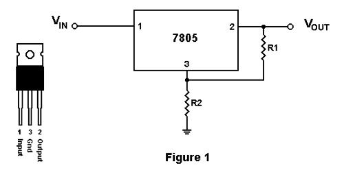 circuit diagram 7805