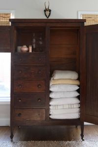 Linen Cabinet   Small closets, Linens and Wardrobes