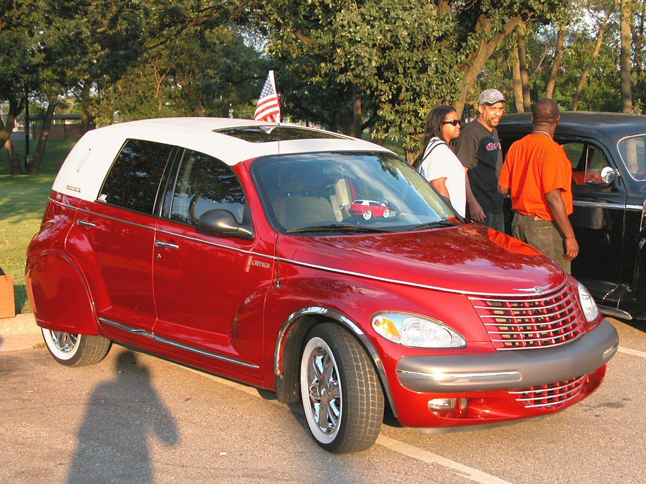 Custom car cars 2002 chrysler pt cruiser custom car convertible wsw tires fender