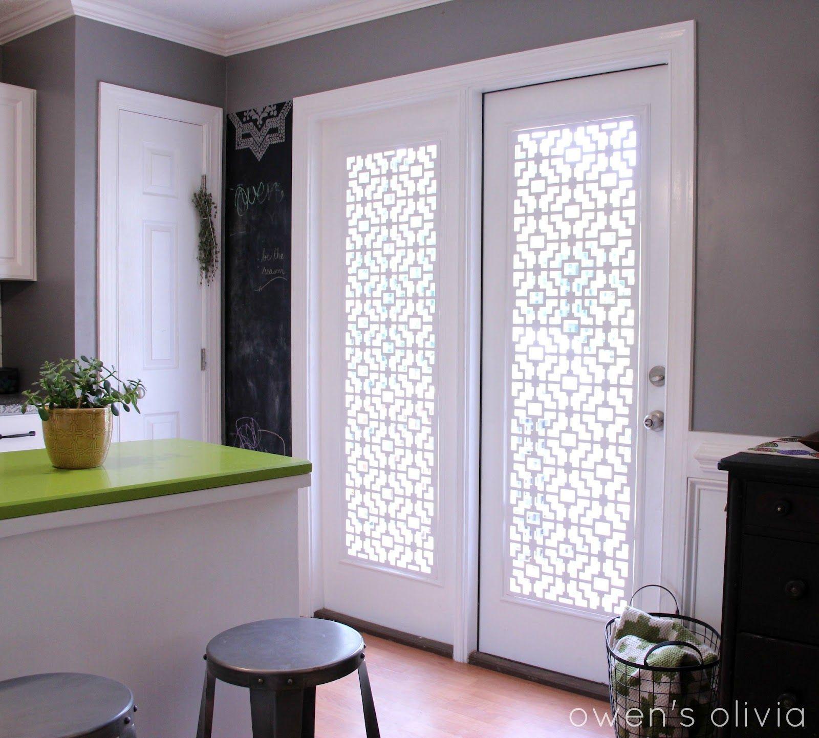 Owen s olivia custom window treatments using pvc i 3 this for my kitchen