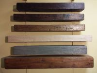 Distressed box beam floating mantels, in stock or custom ...