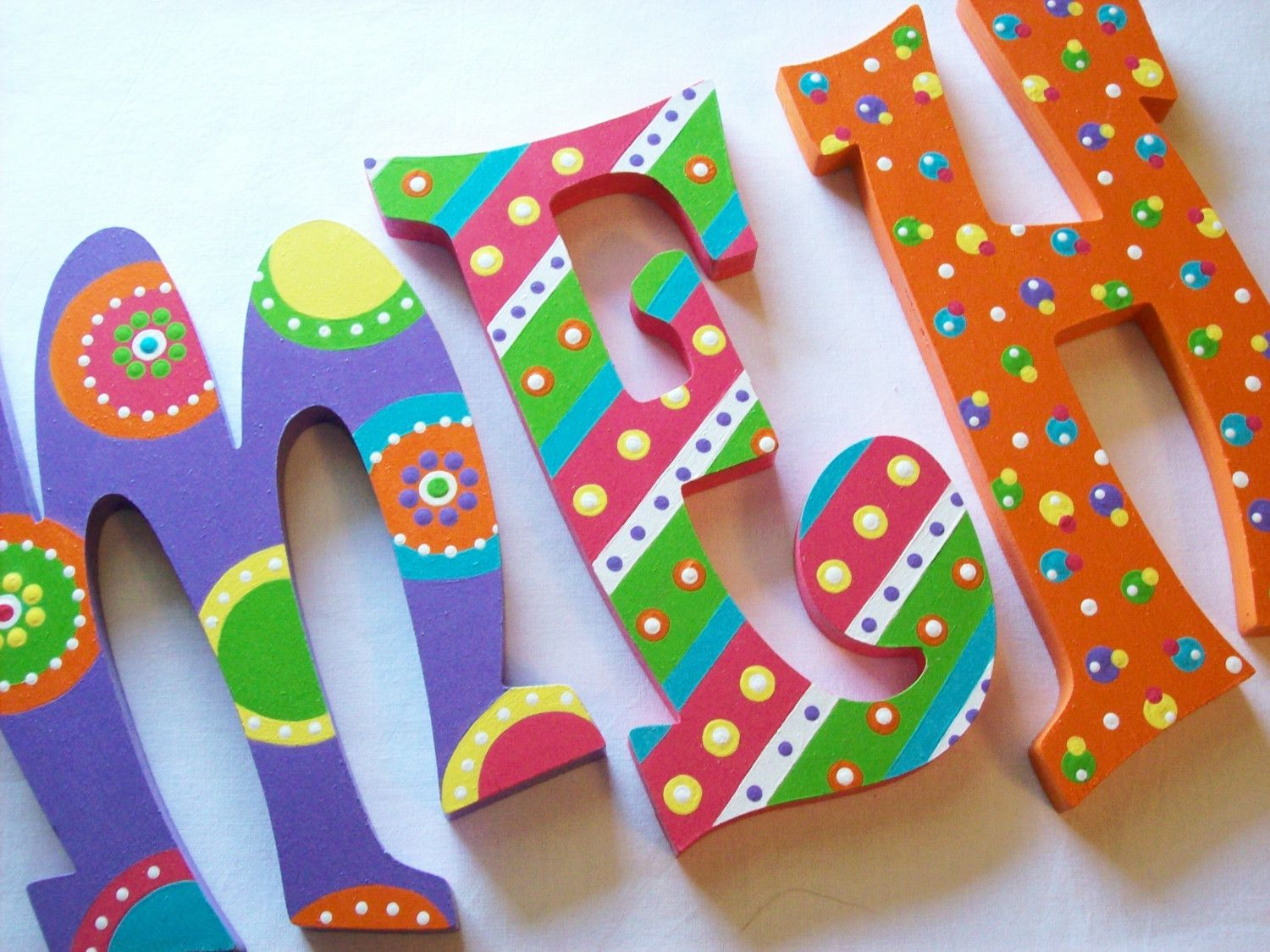 Wooden letters for crafts - Download