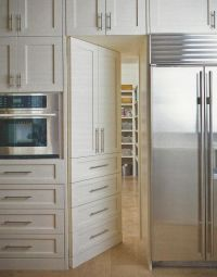 Door to Pantry hidden in cabinetry | Heart of the Home ...