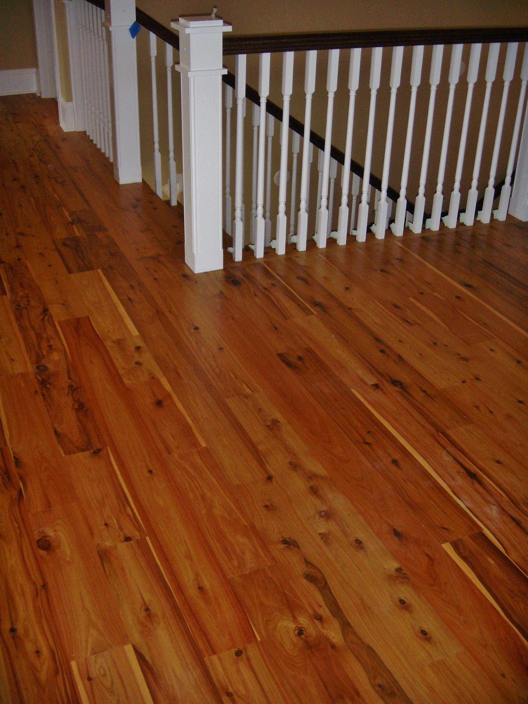 Australian Cypress Hardwood Floors Finished With 3 Coats