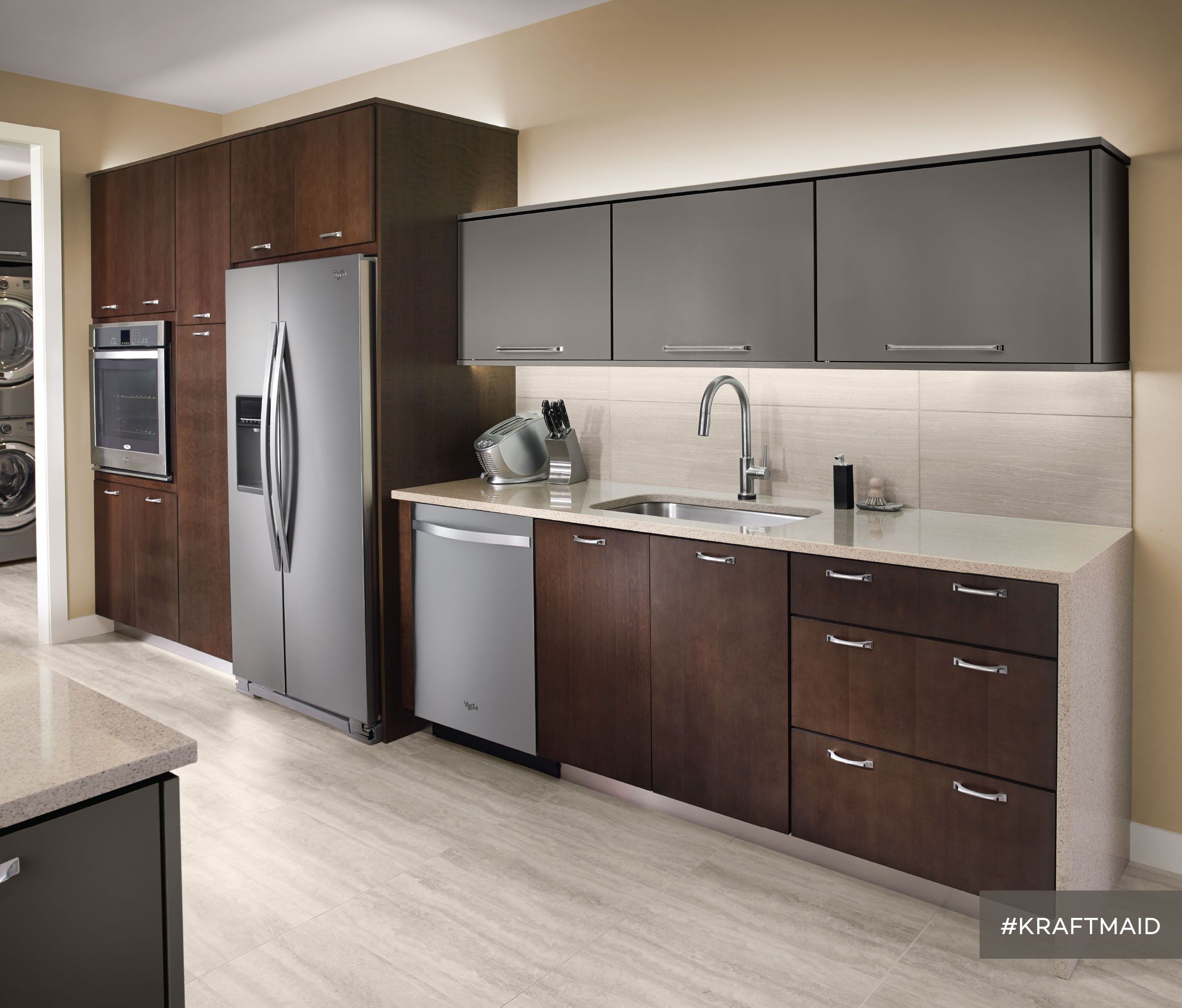 Matte Kitchen Cabinets This Kitchen Features Quartersawn Cherry Cabinet Doors