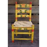 Vintage Mexican Hand Painted Chair | My Style - Clothing ...