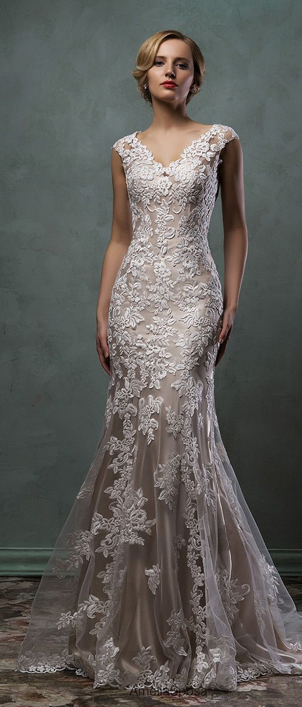 champagne colored wedding dress amelia sposa champagne underly lace wedding dress alba