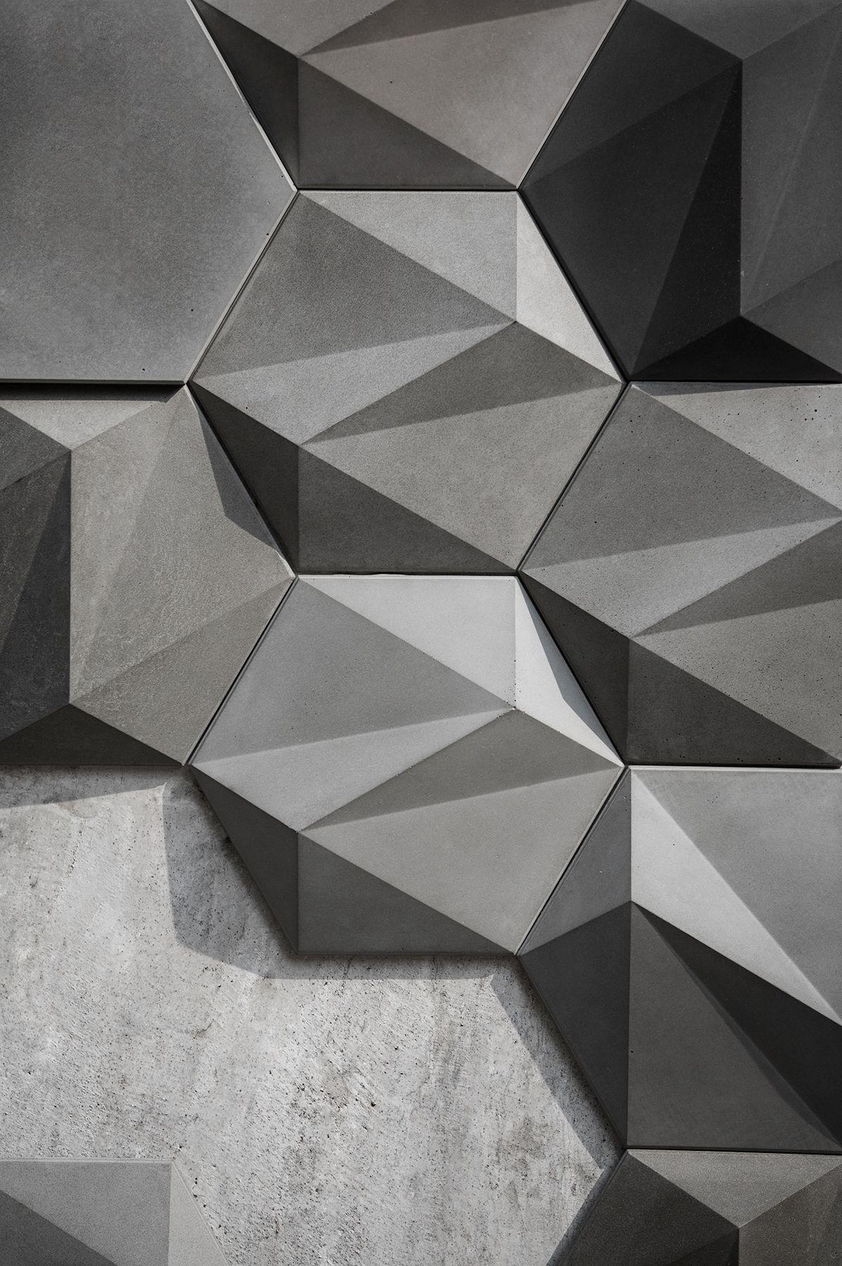 Concrete Wall Decoration