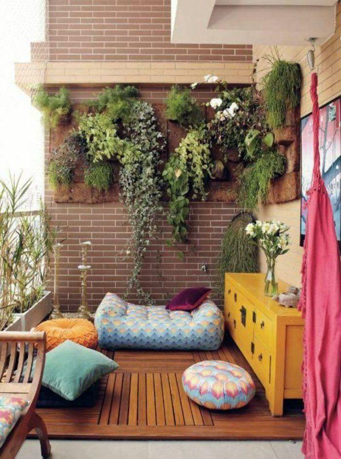 balkongestaltung ideen kleiner balkon einrichten vertikales - mini balkon gestalten