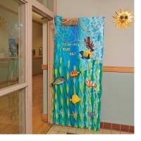 Under the Sea Door Decoration Idea - OrientalTrading.com ...