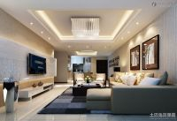 Modern Mansion Living Room With Tv Perfect Design 9 On ...