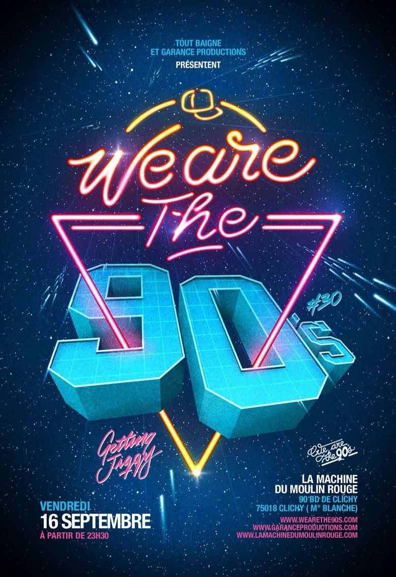 Poster 90s poster