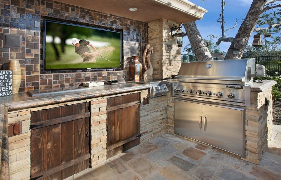 21 insanely clever design ideas for your outdoor kitchen - outside kitchen designs