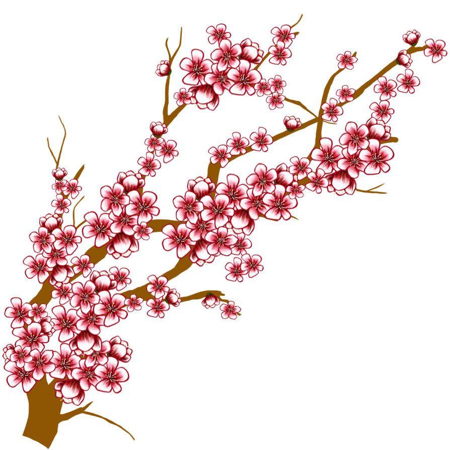 Sakura flower clip art bahar dal pinterest clip art