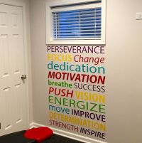 Motivational Quote Wall Decal, Office Decor, Gym Decor ...