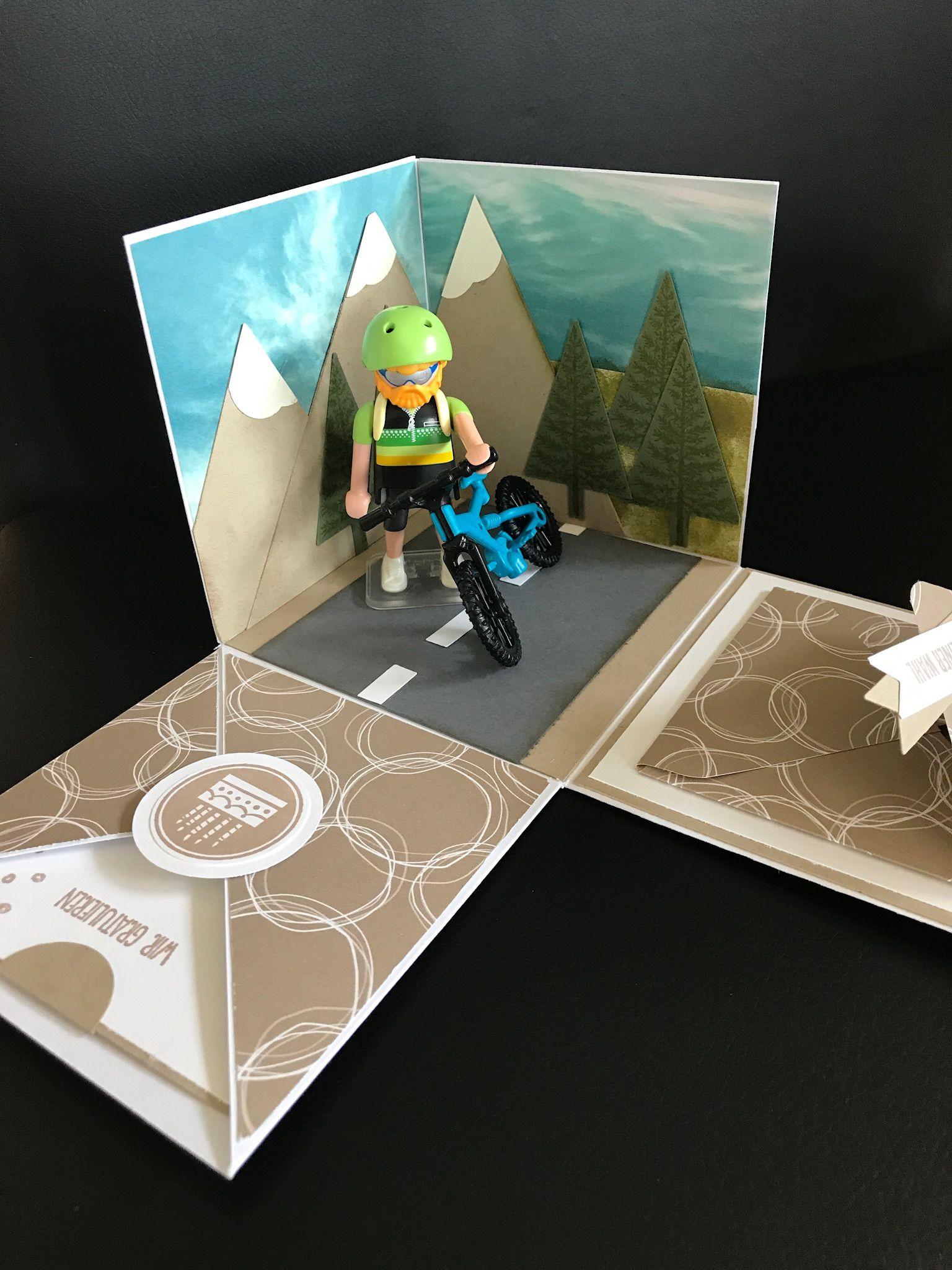 Geldgeschenke Basteln Drahtesel Ein Fahrrad Aus Pappe Movieriff