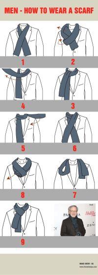 How To Tie A Scarf Men | www.pixshark.com - Images ...