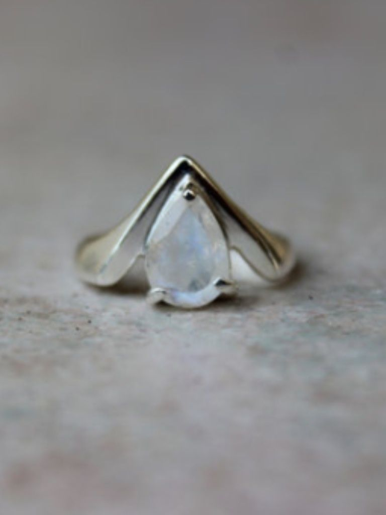 labradorite wedding ring Rings