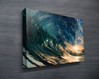 Surf art, surfing artwork, Sydney, Australia, canvas ...