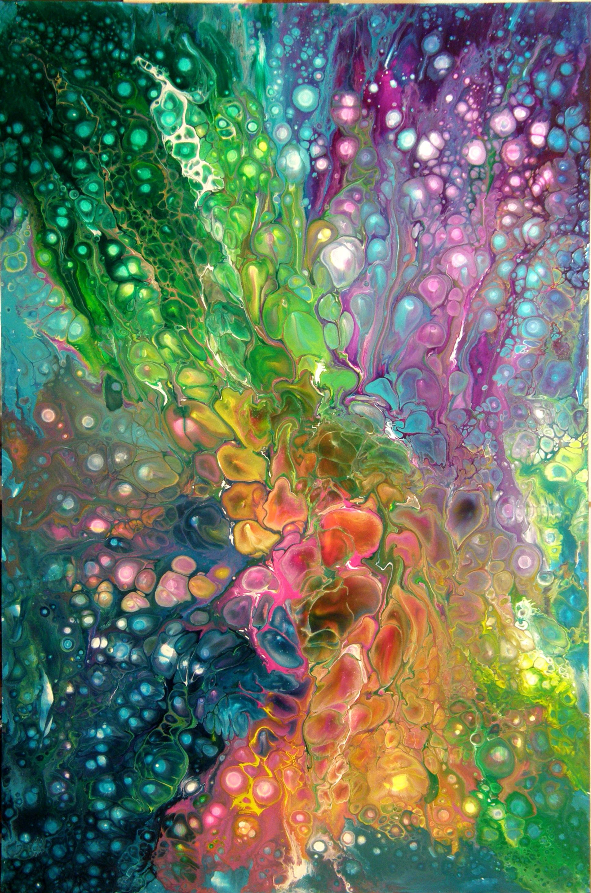 Pouring Pintura Acrylic Pouring Btw Check Out Some Cool Art Here Http