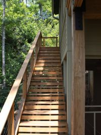 modern wood outdoor stairs - Google Search | Ideas for ...
